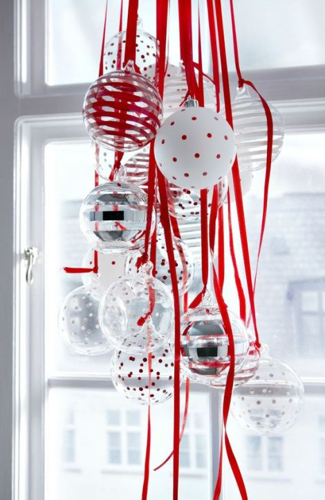 Christmas Decoration Ideas With Ribbon : Christmas decorations